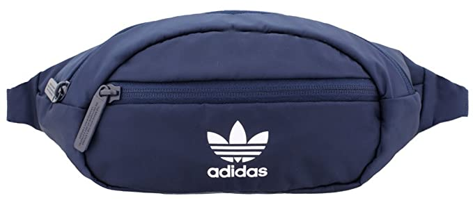 Amazon.com   adidas Originals National PU Leather Waist Pack, Black Pu  Leather Gold, One Size   Sports   Outdoors 8d5b1e9732