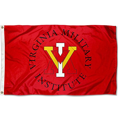 VMI Virginia Military Keydets University Large College Flag by College Flags and Banners Co.
