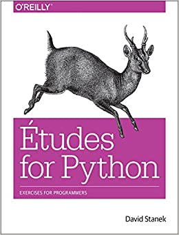 Book Etudes for Python: Exercises for Programmers