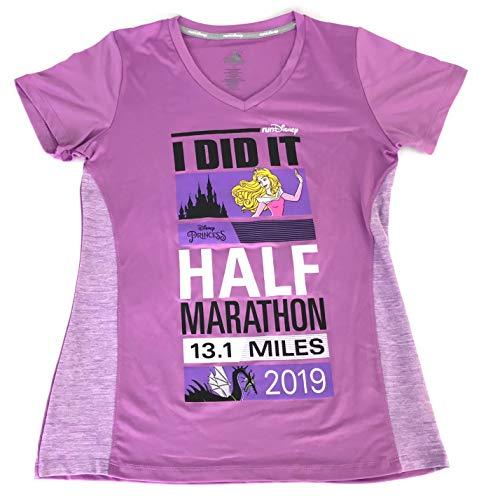 - Disney Princess Aurora Half Marathon 2019 I Did It RunDisney Performance Tee Shirt Womens (Small)