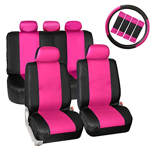 02 ford taurus pink seat covers - 6