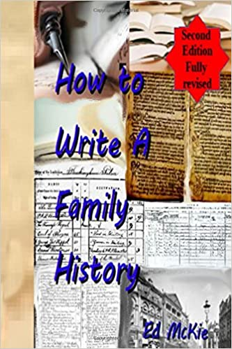 Book How to write a family history: And why you should
