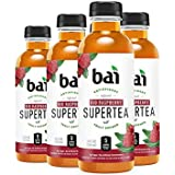 Bai Iced Tea, Rio Raspberry, Antioxidant Infused Supertea, Crafted with Real Tea (Black Tea, White Tea), 18 Fluid Ounce Bottles, 6 count