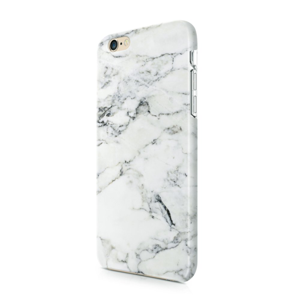 big sale 1e6be 9aa8e uCOLOR White Marble Case Compatible with iPhone 6s/6 Compatible for iPhone  8/7 Soft TPU Protective Case Compatible for iPhone 6S/6/7/8(4.7