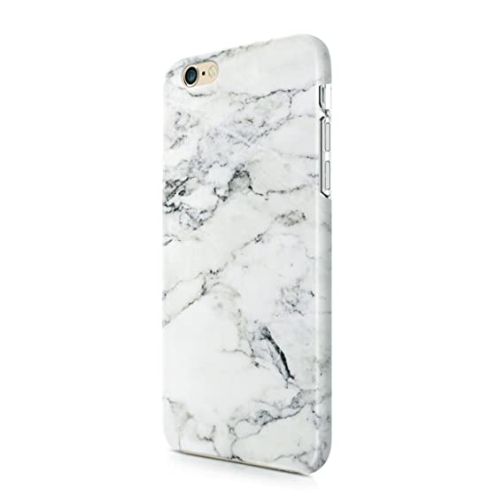 Amazon.com  uCOLOR White Marble Case Compatible with iPhone 6s 6 ... ab5f25b833