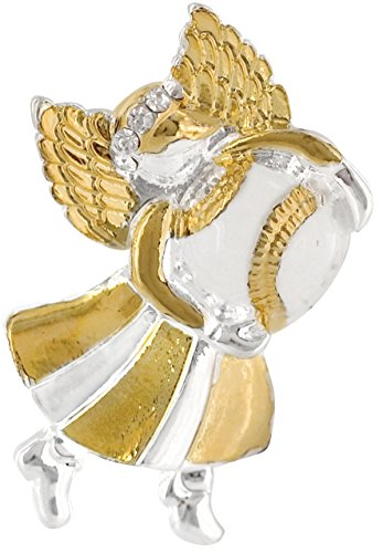 Baseball Angel Pin - Wings and Wishes Angel Tac Pin, Baseball Angel