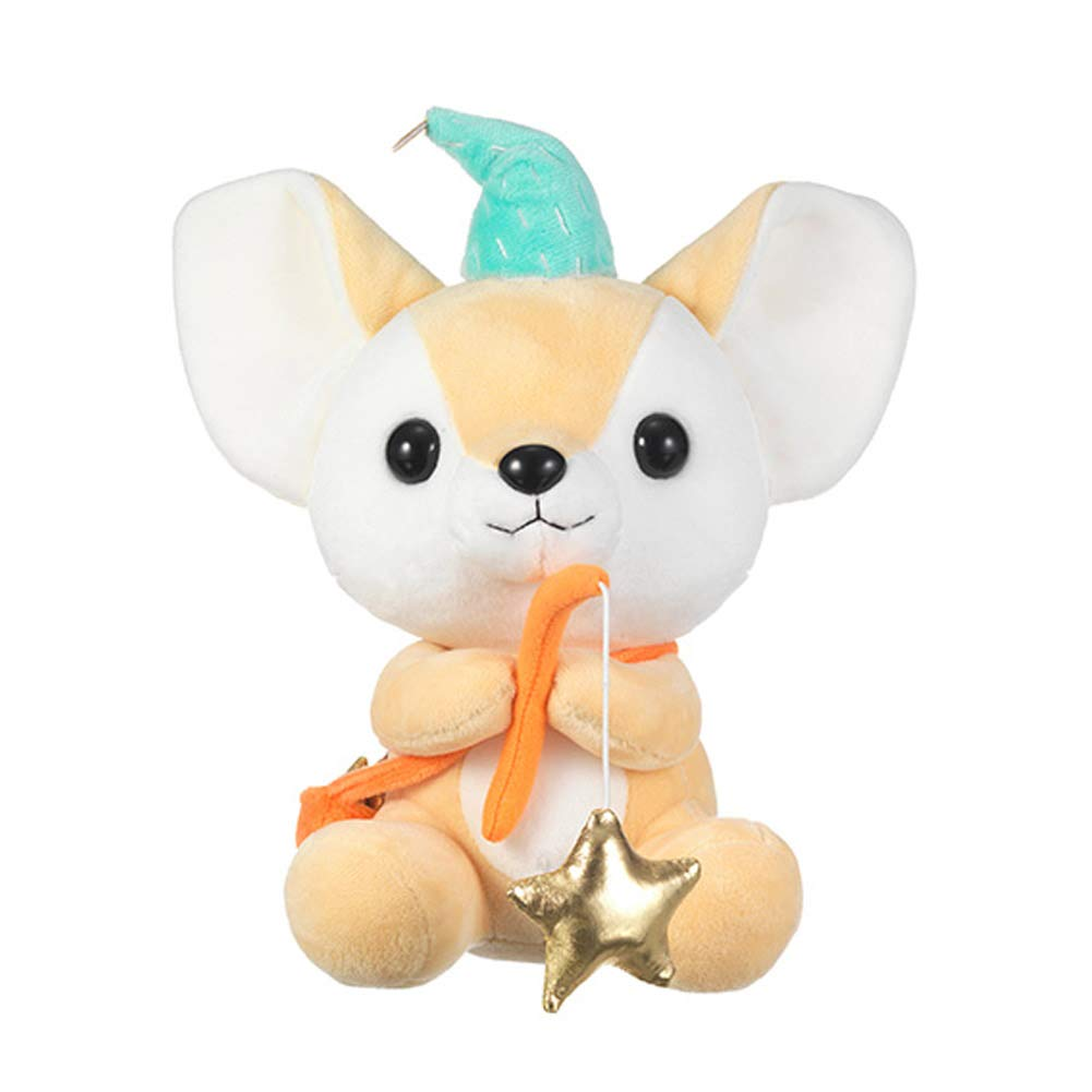 Seayoung Toy Safari Friends Desert Fox Stuffed Animal Plush for Kids Boys Girls Brown 10'' by Seayoung Toy