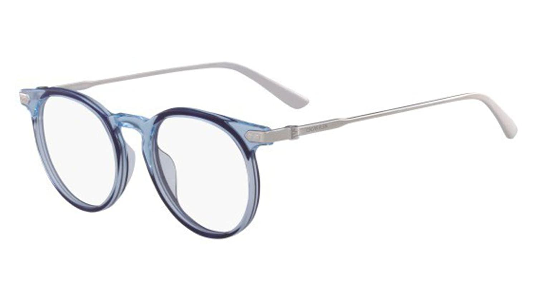 Eyeglasses CK 18705 449 CRYSTAL LIGHT BLUE//NAVY