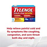 Tylenol Cold + Flu Severe Day & Night Caplets for