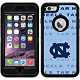North Carolina Repeating design on Black OtterBox Defender Series Case for iPhone 6 Plus and iPhone 6s Plus