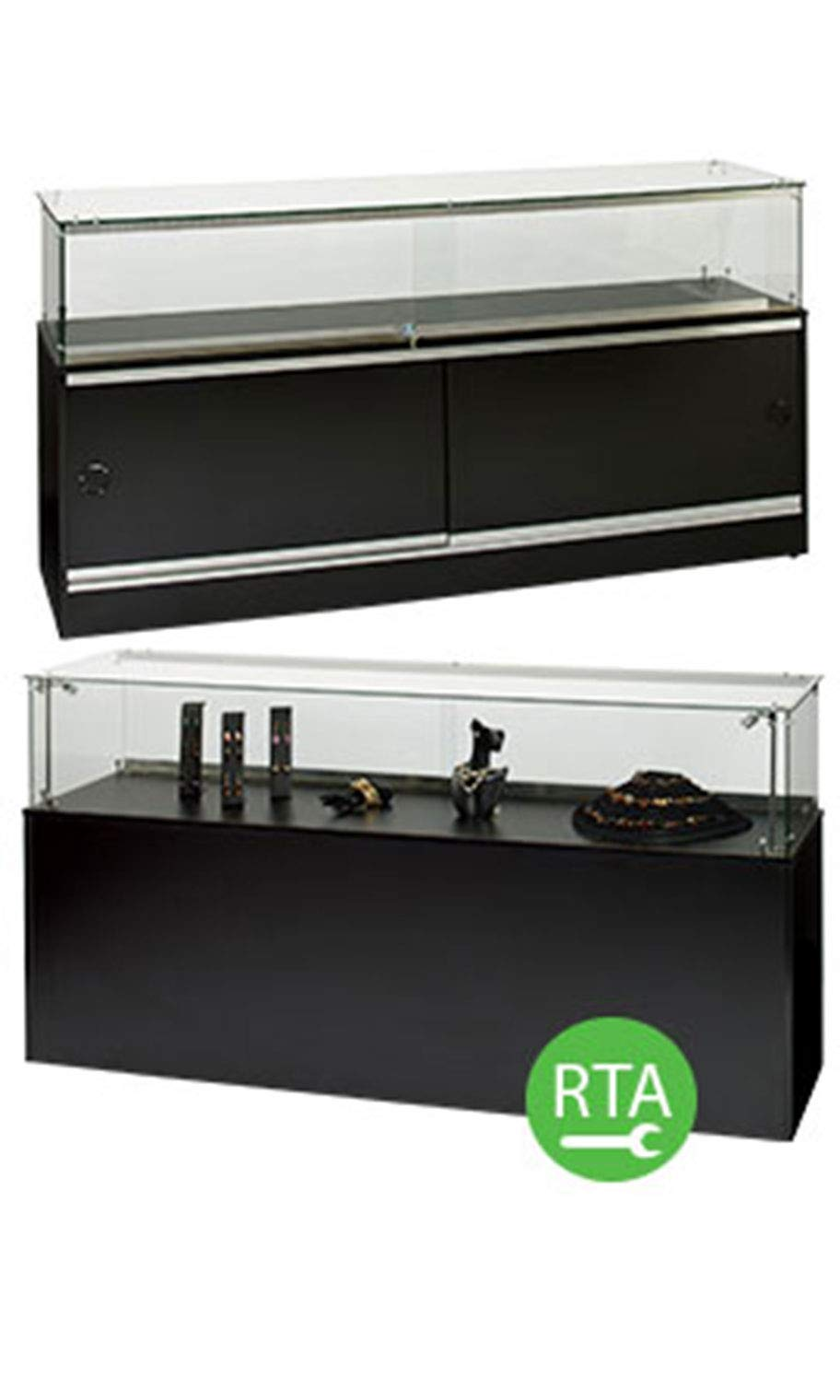 Jewelry Display Case -70 inch Infinity - Assembly Required