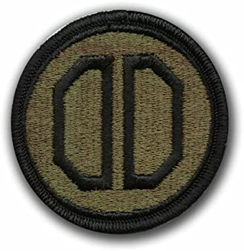 31st Armored Brigade Patch Full Color - Dress