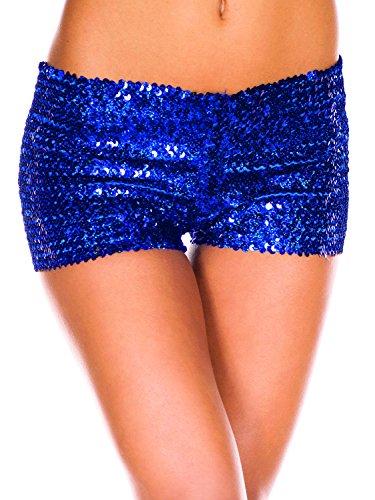 Moon Moon Donna Angle Pantaloncini Blau Angle fBOpw44cqP