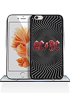 Popular Style AC/DC Logo For Iphone 6 Funda Case - Fun [Ultra Hybrid] High Quality + Drop Protection Hard Plastic Silicone Back Protector Skin Compatible With Apple Iphone 6 / 6s (4.7-inch)