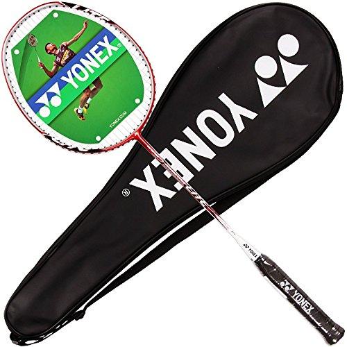 Yonex Isometric Lite 2 Badminton Racquet, White/Orange