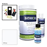 BATHWORKS 20-oz. DIY Bathtub and Tile Refinishing Kit- White