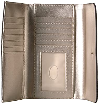 GUESS Jacqui Slim Clutch Logo Wallet