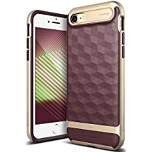 Caseology Parallax Series iPhone 7 / 8 Cover Case with Design Slim Protective for Apple iPhone 7 (2016) / iPhone 8 (2017) - Burgundy