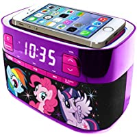 My Little Pony Molded Bluetooth Radio with Clock