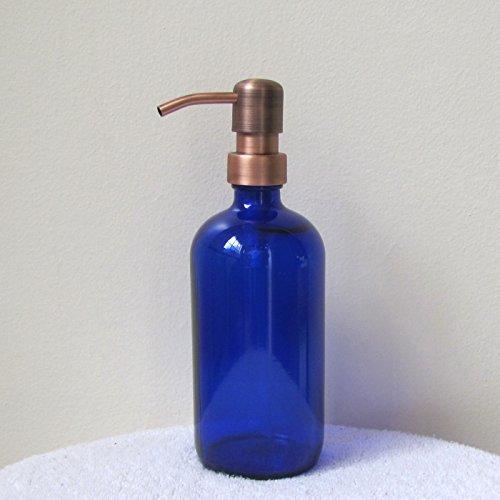 Copper Antique Soap Dispenser - 8
