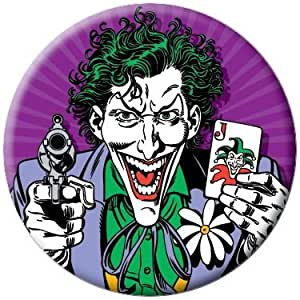 Amazon.com: DC Comics Batman Joker Gun and Card Button