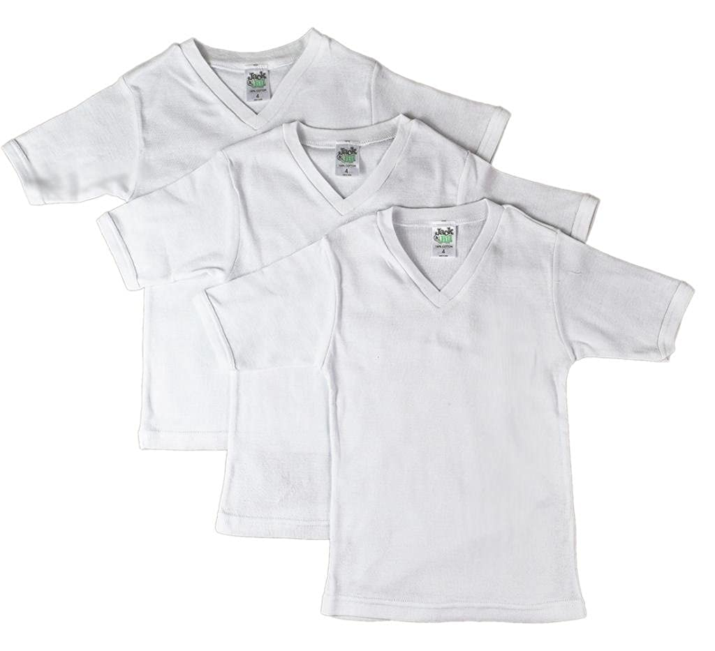 Jill and Jack Boys Vneck Short Sleeve