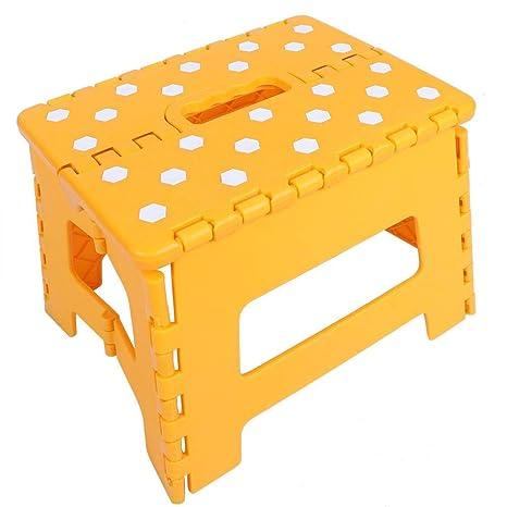 Amazon.com: Aufee - Taburete plegable para niños, 28,5 21,5 ...