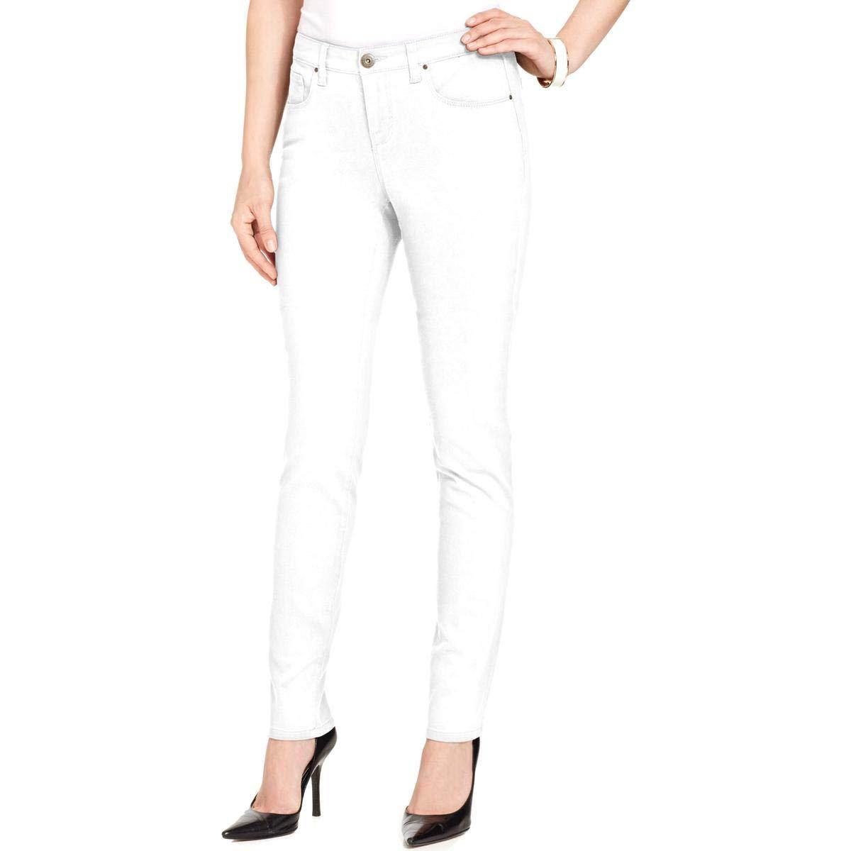 Petite Zip-Pocket Skinny Jeans Style /& Co