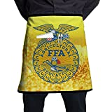 Bralla National FFA Organization Half Body Waist Apron With Pocket For Bartenders, Cooking