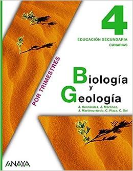 Biología Y Geología 4 Eso Canarias Amazon De Plaza Escribano Concepción Et Al Fremdsprachige Bücher