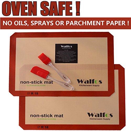 Walfos Silicone Baking Mat Set Sheet product image