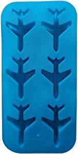 3D Airplane Ice Cube Trays, Plane Aircraft Silicone Chocolate Candy Mold Fondant Brownie Baking Mold Cake Decorating Mold Jelly Pudding Soap Whisky Bar Party Drink Tools