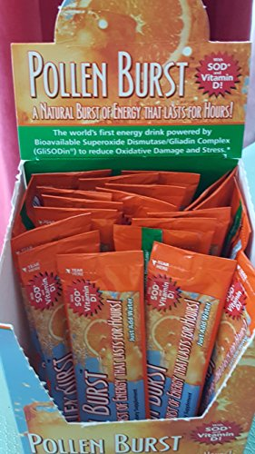 2 Boxes Projoba Pollen Burst Youngevity Energy Drink 30 Servings Per Box (Ships Worldwide)