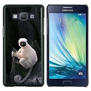 Caucho caso de Shell duro de la cubierta de accesorios de protección BY RAYDREAMMM - Samsung Galaxy A5 A5000 - lindo mono mono Madagascar