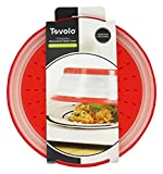 Tovolo Vented Collapsible Microwave Food Cover With