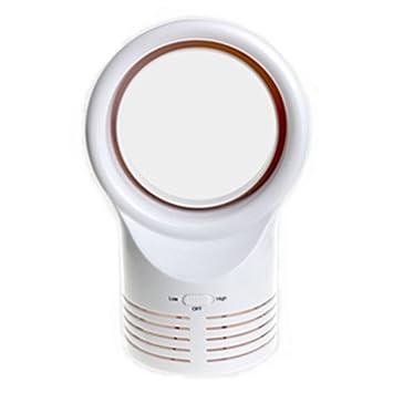 Elegant FOKN Beweglicher Mini Blattloser Ventilator Stumm Desktop Ventilator Für  Haus Büro Reise Im Freien,