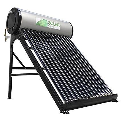 Calentador de agua solar 8 tubos