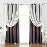 Home Fashion Blackout Curtains 84s Review and Comparison