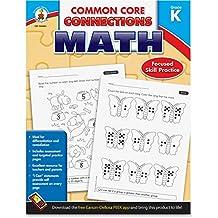 CARSON DELLOSA MATH GR K COMMON CORE CONNECTIONS (Set of 3)