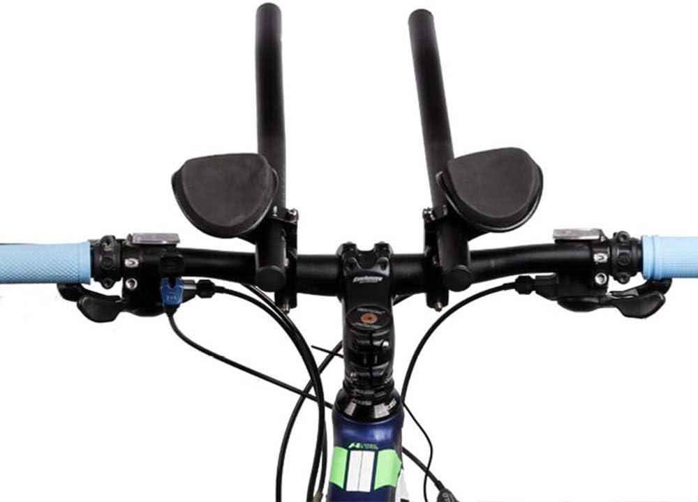 Bicicleta Resto Manillar Ciclismo Aero Bar Triatlón MTB Carretera Bicicleta Brazo Relax Bar: Amazon.es: Deportes y aire libre