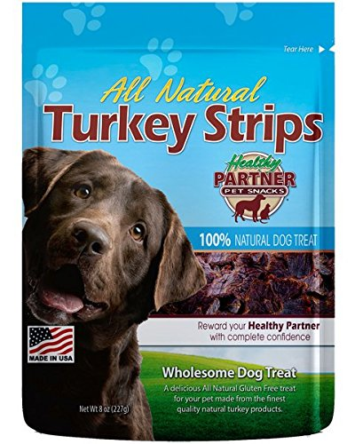 New! Larger Size! Healthy Partner Turkey Strips 8oz