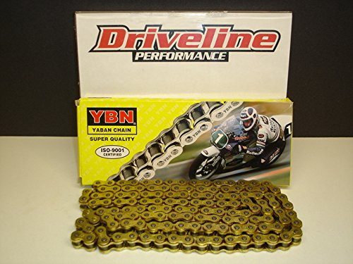 Driveline Performance Heavy Duty Non-Oring Gold Chain 136 Links (Swing Arm Chain)