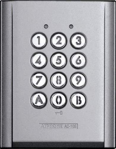 Image of Aiphone AC-10S Stand-Alone Access Control Keypad Access-Control Keypads