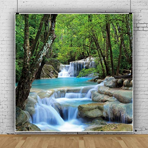 Adventure 8x10 FT Backdrop Photographers,Ethereal View of Kawah Ijen Crater in Indonesia Scenic Misty Land Background for Child Baby Shower Photo Vinyl Studio Prop Photobooth Photoshoot