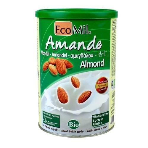 (2 Pack) - Ecomil - Almond Powder | 400g | 2 PACK BUNDLE (Milk Almond Powder)