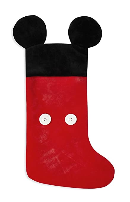 Mickey Mouse oficial calcetín de Navidad Disney