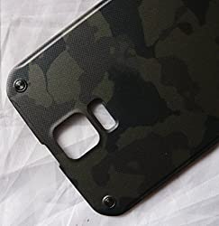 For Samsung Galaxy S5 Active G870 G870a At&t Camo Green New Back Cover Door Battery Cover
