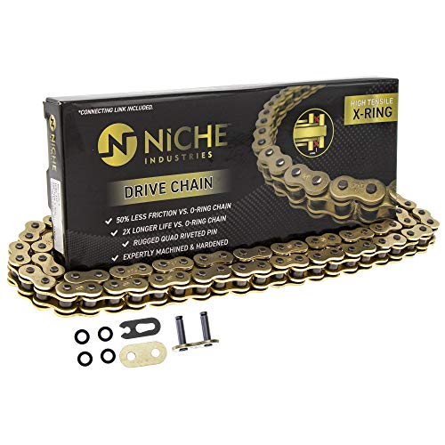 Niche Gold 520 X-Ring Chain 106 Links With Connecting Master Link
