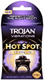 Trojan Vibrations Hot Spot Vibrating Ring