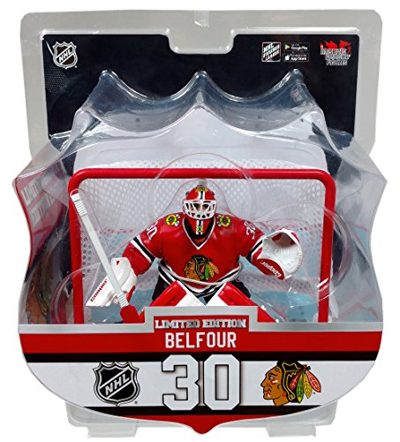 Ed Belfour (Chicago Blackhawks) Goalie with Net 6